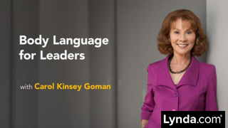Lynda.com Online Class Body-Language-for-Leaders image