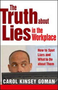 The Truth About Lies in the Workplace Book Cover Image